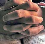 Bøn med staben