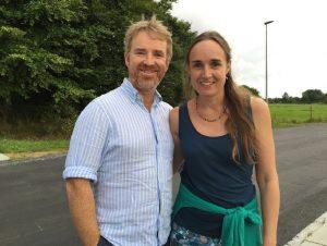 Samling med Emily og Patrick McDonald