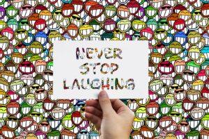 Café Latter & gode grin